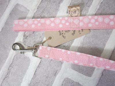 the posh dog clothing company fabric lead pink snow 2