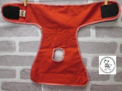 the posh dog clothing company pants blue tartan red 04