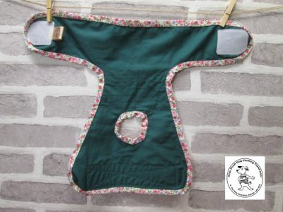 the posh dog clothing company pants green sheep green 05