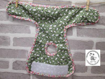 the posh dog clothing company pants green sheep green 06