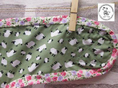 the posh dog clothing company pants green sheep green 07