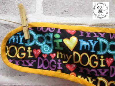 the posh dog clothing company pants love dog purple 06