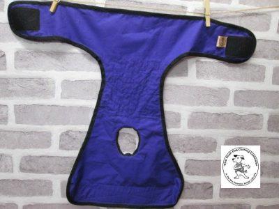 the posh dog clothing company pants orange super hero purple 05