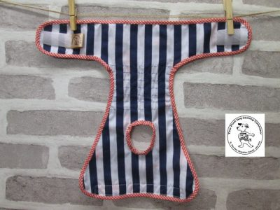 the posh dog clothing company pants queen stripe 04