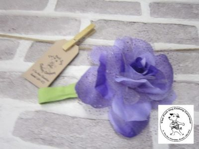the posh dog clothing company purple corsage 2