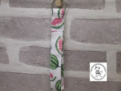 the posh dog clothing company walkies key fob watermelon 1