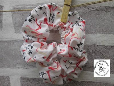 the posh dog clothing company walkies scrunchie flamengo 1