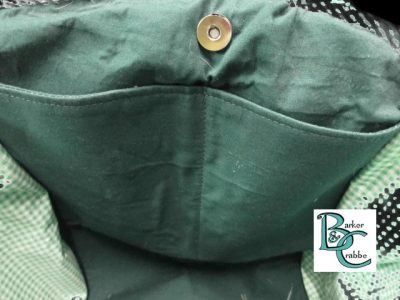 posh dog for you barker crabbe basket tote green dogs green 4