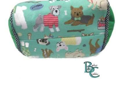 posh dog for you barker crabbe basket tote green dogs green 6