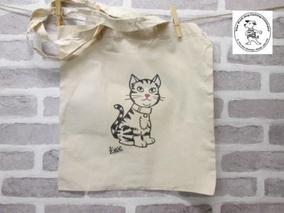 the posh dog clothing company icon tote shopper cat 1