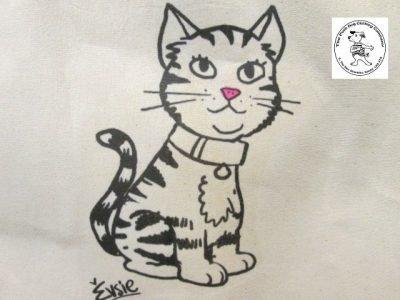 the posh dog clothing company icon tote shopper cat 2