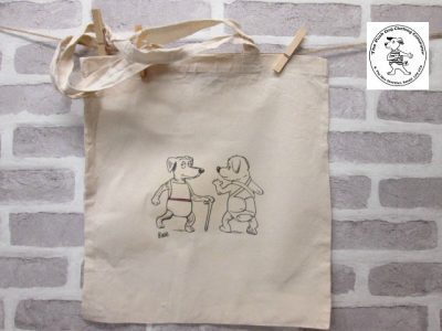 the posh dog clothing company icon tote shopper full body pants and bib 1