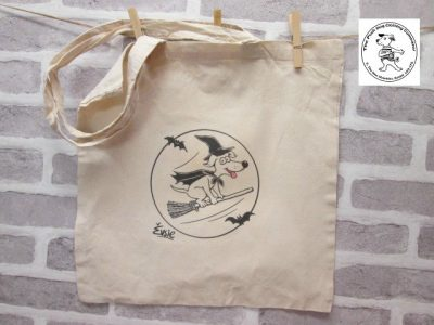 the posh dog clothing company icon tote shopper halloween 1