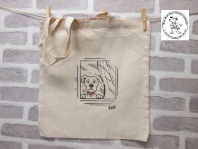 the posh dog clothing company icon tote shopper home alone window 1
