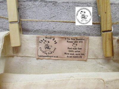 the posh dog clothing company icon tote shopper label