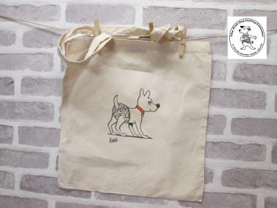 the posh dog clothing company icon tote shopper pants 1