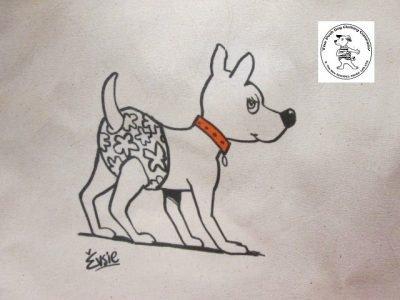 the posh dog clothing company icon tote shopper pants 2