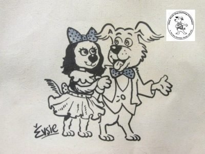 the posh dog clothing company icon tote shopper wedding 2