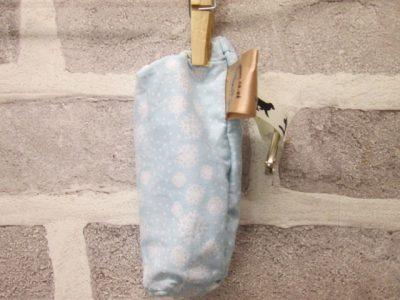 the posh dog clothing company walkies collection poo bag blue snow 1