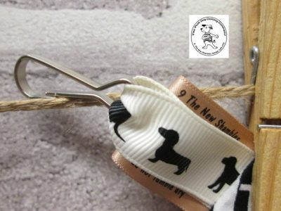 the posh dog clothing company walkies poo bag clip