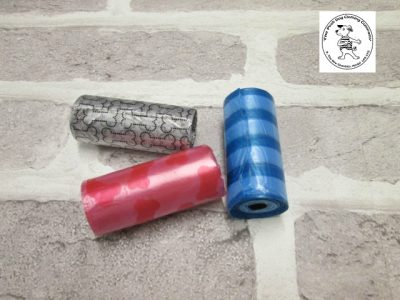 the posh dog clothing company walkies poo bag rolls