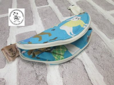 the posh dog clothing company walkies collection water bowl blue dogs 4