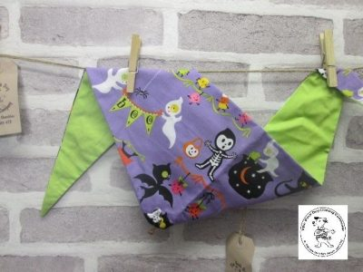 the posh dog clothing company halloween cartoon purple green 2