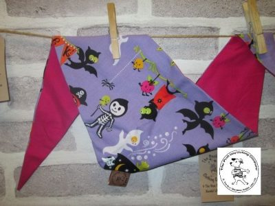 the posh dog clothing company halloween cartoon purple pink 1