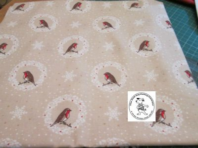 the posh dog clothing company bandannas christmas robins green 5