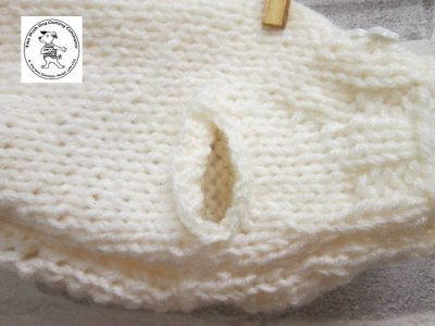 the posh dog clothing company knitted jumper weekender cream 2