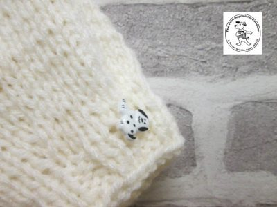 the posh dog clothing company knitted jumper weekender cream 3