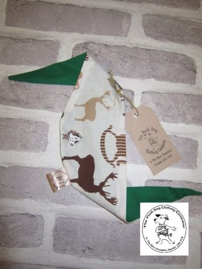 the posh dog clothing company smallbandanna stag 4