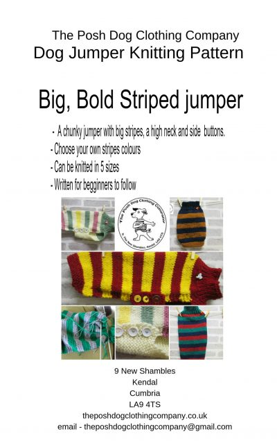 big bold stripes jumpers cover