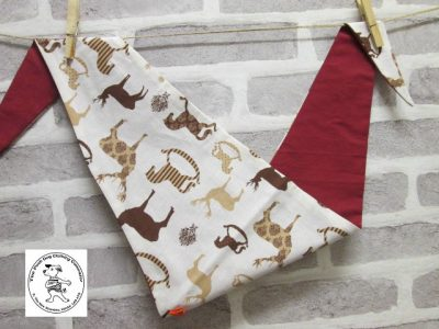 the posh dog clothing company bandanna christmas horses red 1