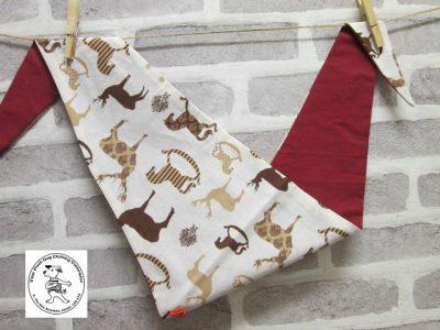 the posh dog clothing company bandanna christmas horses red 1