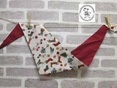 the posh dog clothing company bandanna christmas little socks red 1
