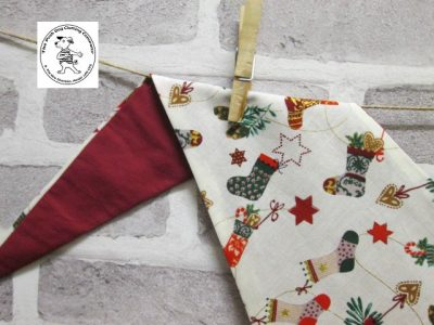 the posh dog clothing company bandanna christmas little socks red 2