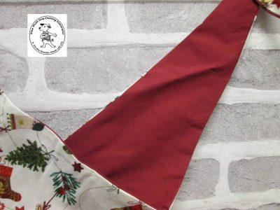 the posh dog clothing company bandanna christmas little socks red 3