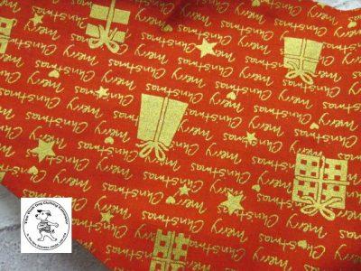 the posh dog clothing company bandanna christmas red words green 2