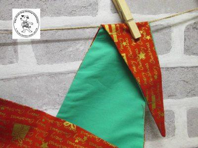 the posh dog clothing company bandanna christmas red words green 6