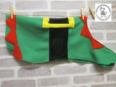 the posh dog clothing company derss up christmas elf 12