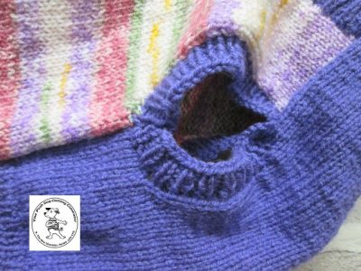 the posh dog clothing company jumpers stripes purples pinks 3