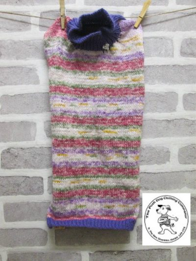 the posh dog clothing company jumpers stripes purples pinks 4