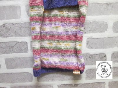 the posh dog clothing company jumpers stripes purples pinks 7
