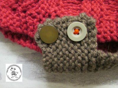 the posh dog clothing company basket weave raspberry trouffle 3